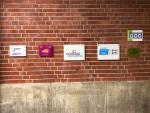 Teilnahme-Plaketten Contigo, Bauhaus-Agenten, TUWAS-Projekt...