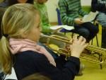 die Trompete, sie schmettert...