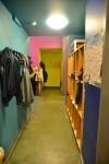 Garderobe in einem unserer Doppelräume