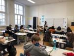 Klassenraum einer 8. Klasse