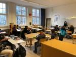 Klassenraum einer 7. Klasse