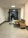 Das alte Eingangsfoyer ist gerade umgebaut worden und wird im Frühjahr 2021 für unsere Schüler*innen freigegeben