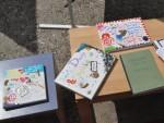 schön gestaltete Miniaturen und ein Erfahrungsbericht über das Führen des Haushalts als Herausforderung waren auch darunter.
