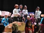 Auftakt: Stern über Bethlehem mit Chor und Instrumentalisten aus den 1.-3. Klassen